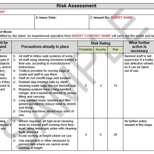 Risk assessment method statement for laying concrete pronofoot35fo Choice Image