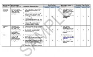 Risk Assessment & Method Statement for Fencing 2