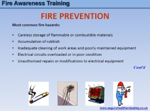 Fire Awareness Training 1