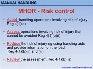 Manual Handling Seguro MHOR