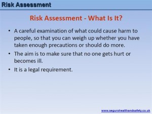 Risk Assessment Training Presentation 1