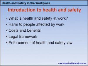 Health & Safety in the Workplace 1