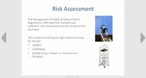 Risk assessment Seguro
