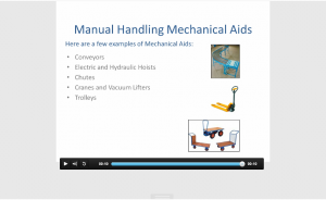 Manual Handling Mechanical aids seguro