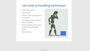 Manual Handling techniques Seguro