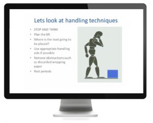 Manual Handling Screen 1
