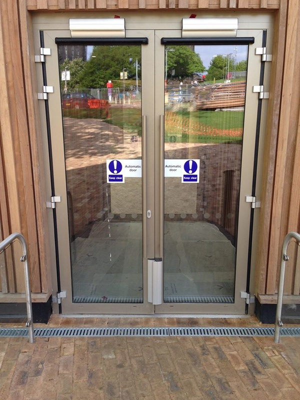 Risk assessment method statement automatic door repair