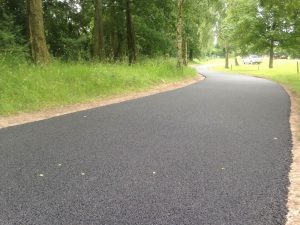 Laying a New Tarmac Path
